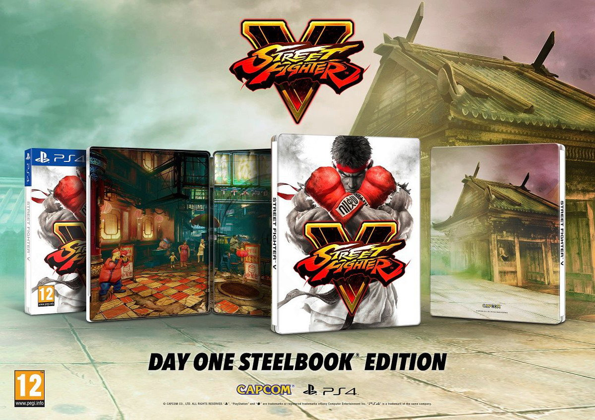 [In][n] Street Fighter V Steelbook PS4
