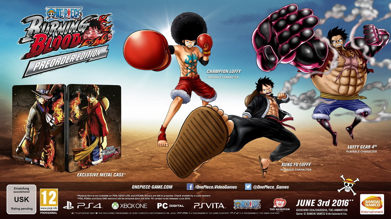 One Piece: Burning Blood Pre-order Edition