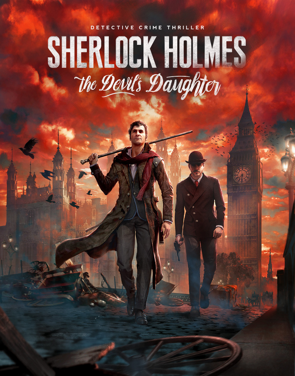 Sherlock Holmes: The Devil's Daughter cover