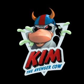 Kim The Avenger Cow logo