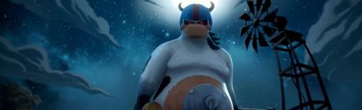 Kim The Avenger Cow