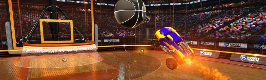 Rocket League Hoops mode featured image