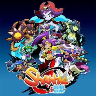 Shantae: Half-Genie Hero art