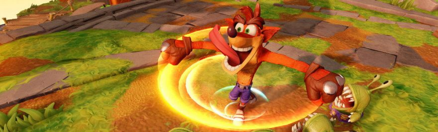 Crash Bandicoot in Skylanders Imaginators
