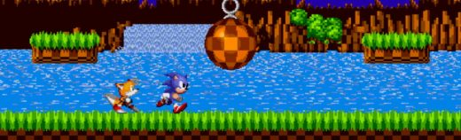 Sonic the Hedgehog retro