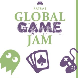 Global Game Jam Patras 2017 logo