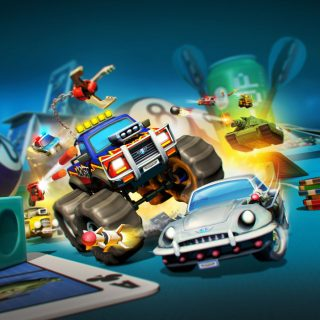 Micro Machines World Series concept