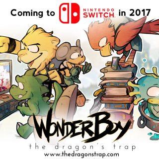Wonder Boy: The Dragon's Trap on Switch