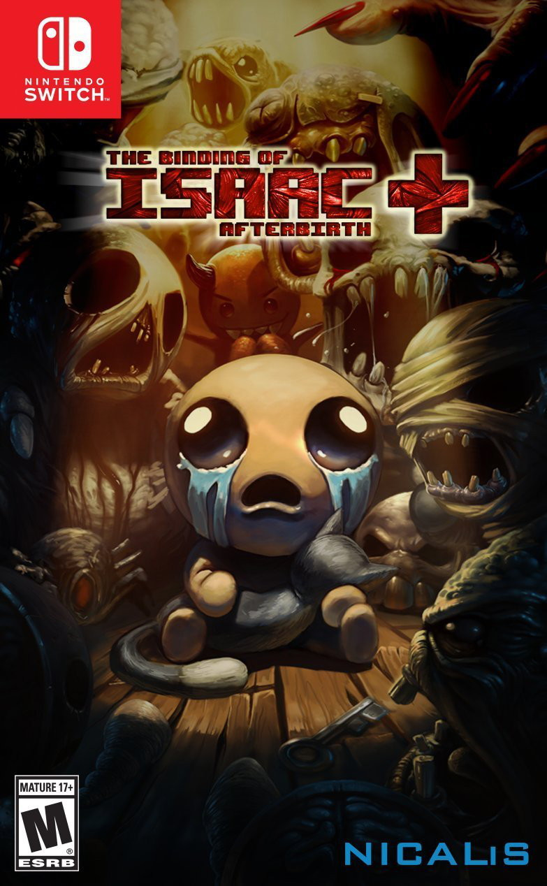 The Binding of Isaac: Afterbirth + cover
