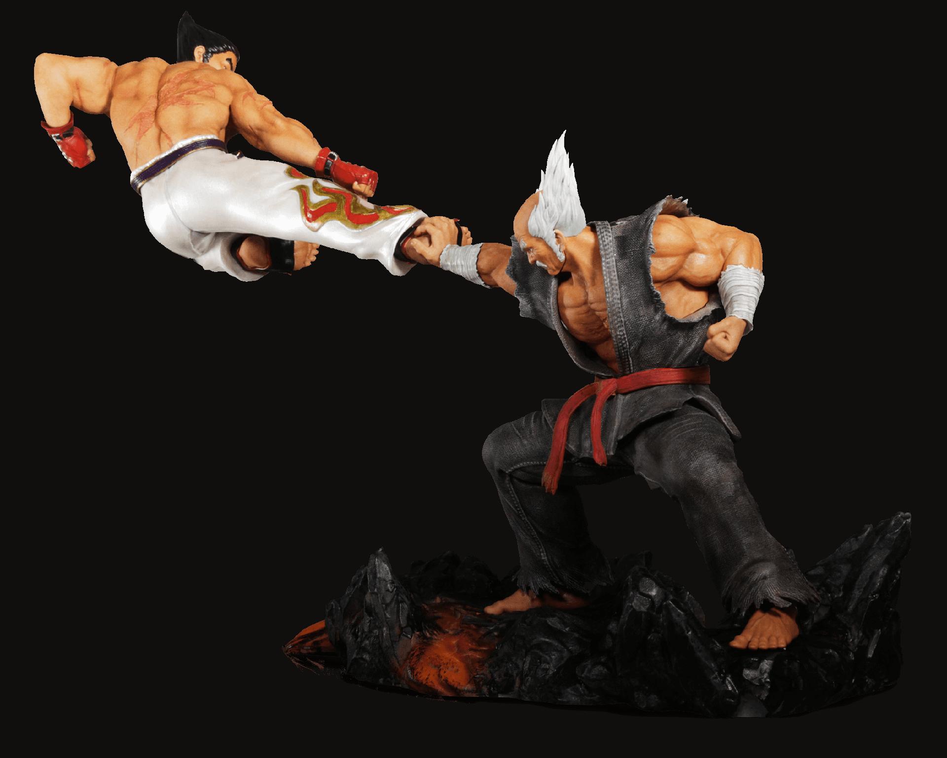 Tekken 7 Collector's Edition statue